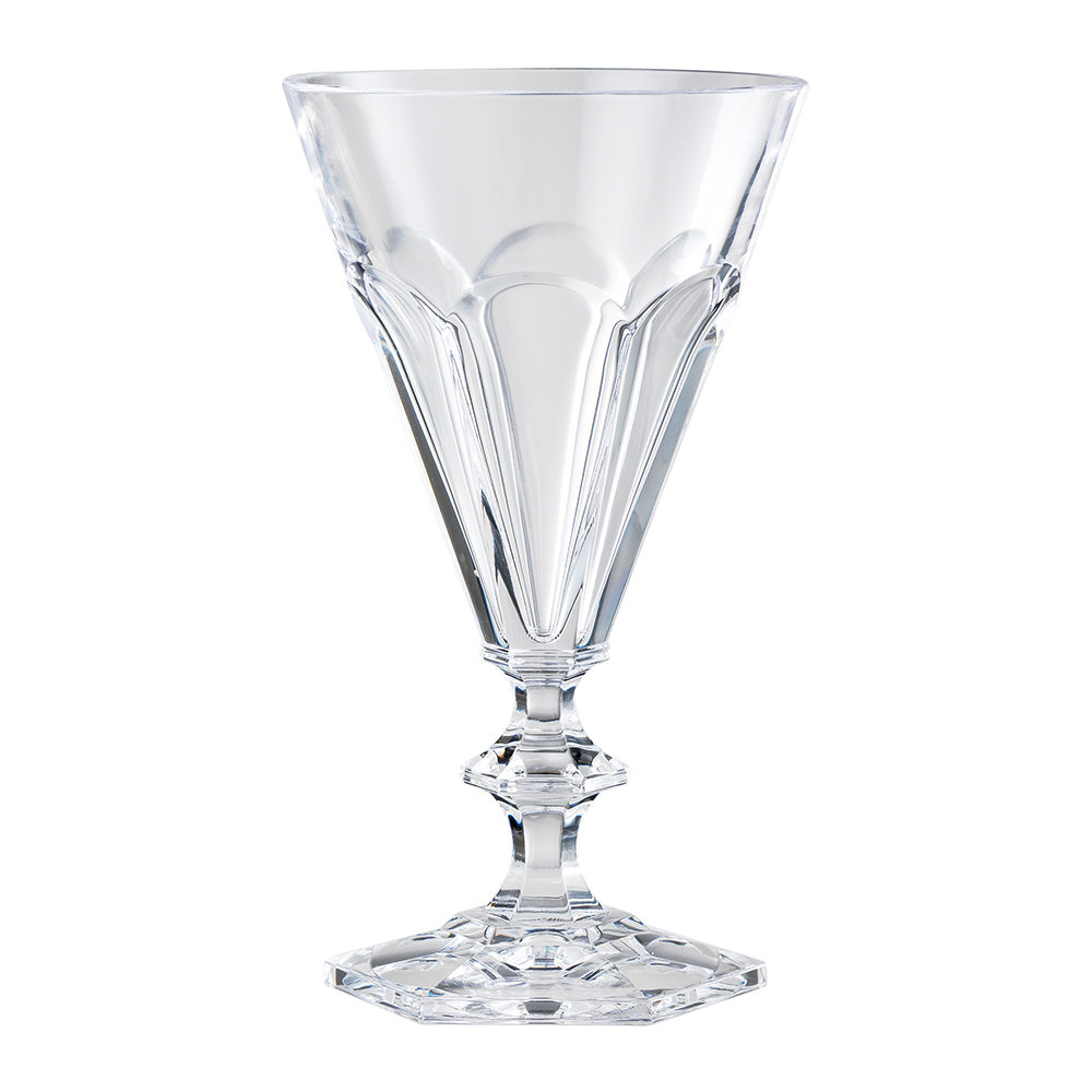 Buy mario luca giusti giada acrylic wine glass clear amara for Glass or acrylic