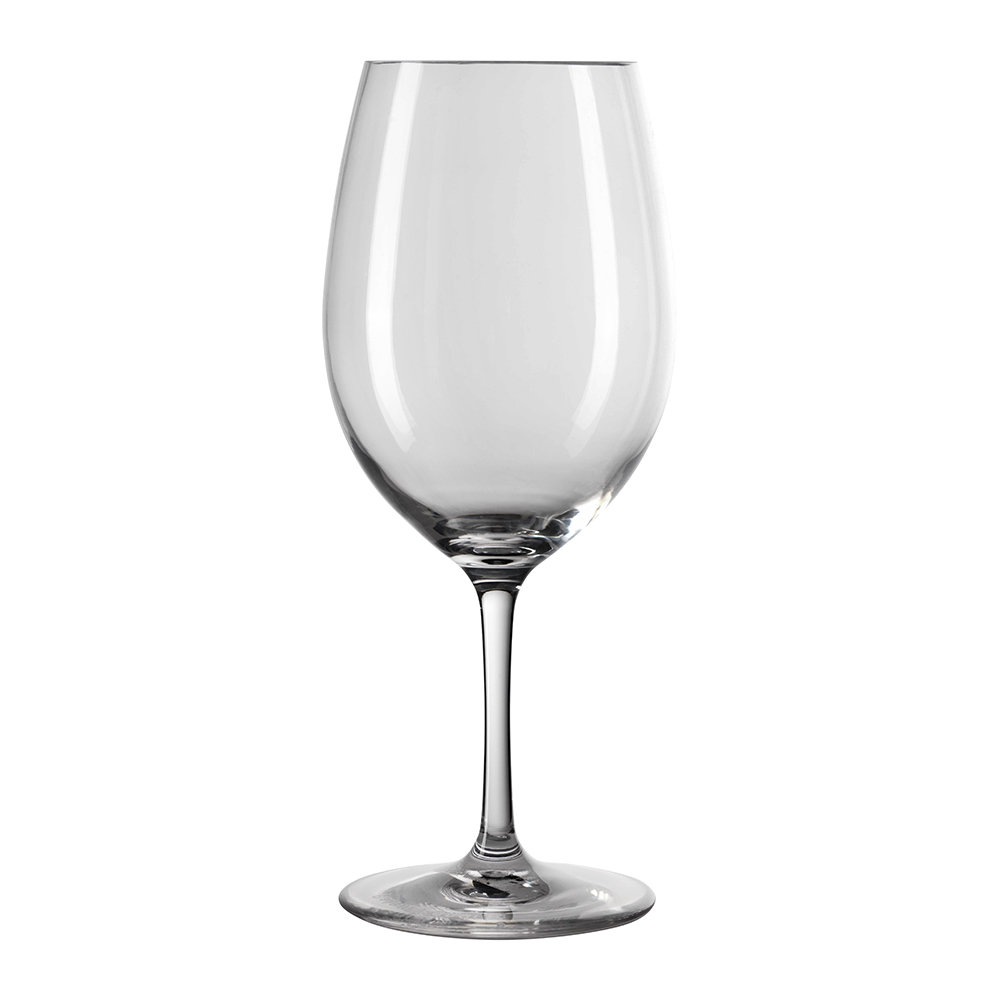 Buy mario luca giusti bistrot acrylic wine glass clear for Glass or acrylic