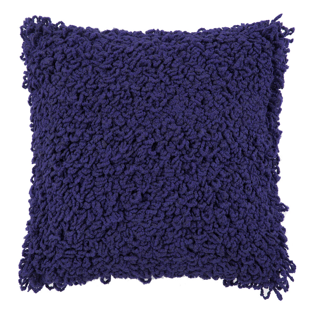 Tom Dixon - Boucle Cushion - 45x45cm - Electric Blue