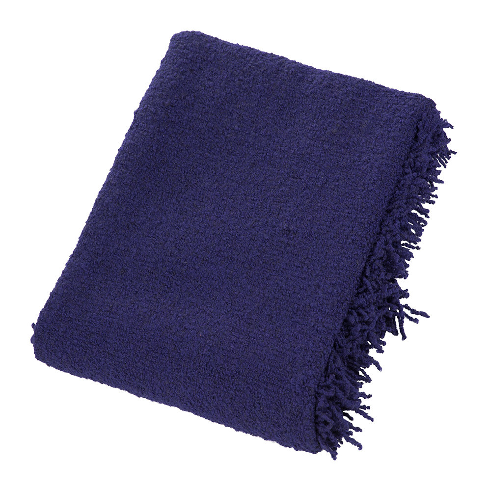 Tom Dixon - Boucle Throw - 140x200cm - Electric Blue