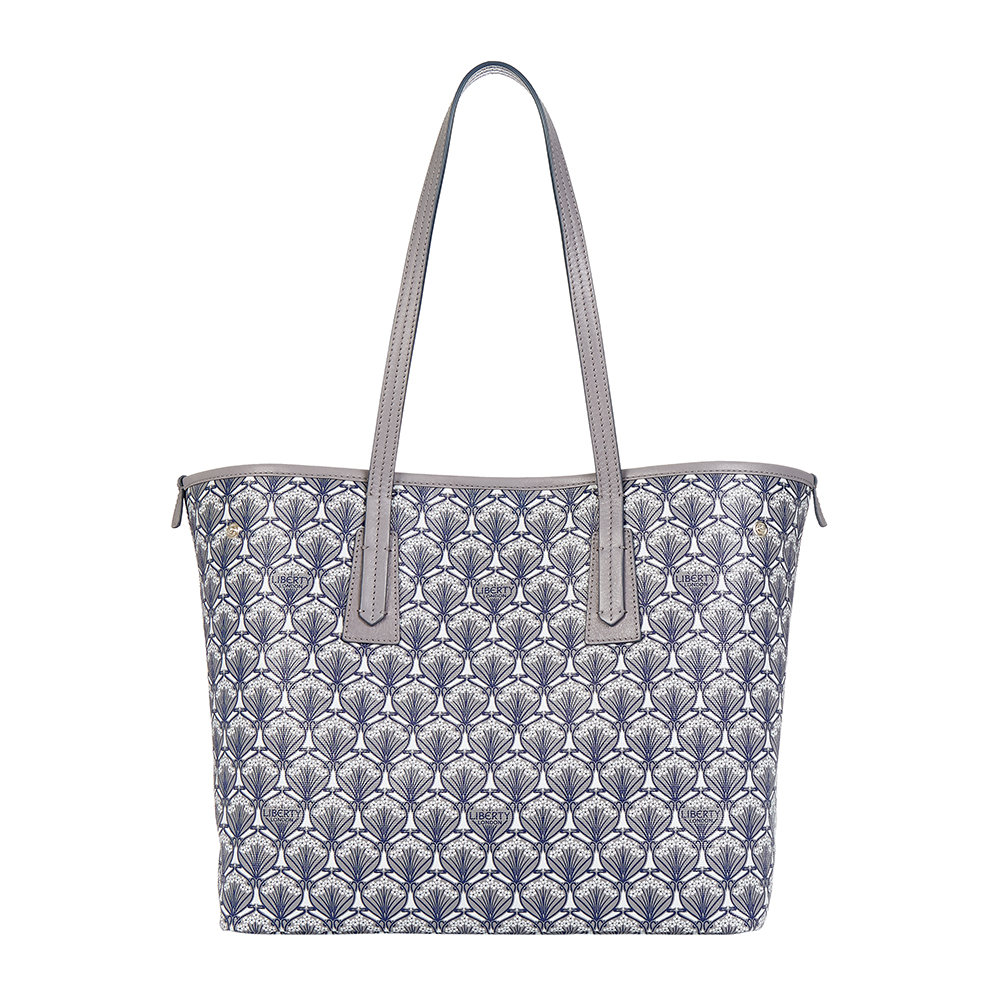 Liberty London - Iphis Marlborough Handbag - Grey