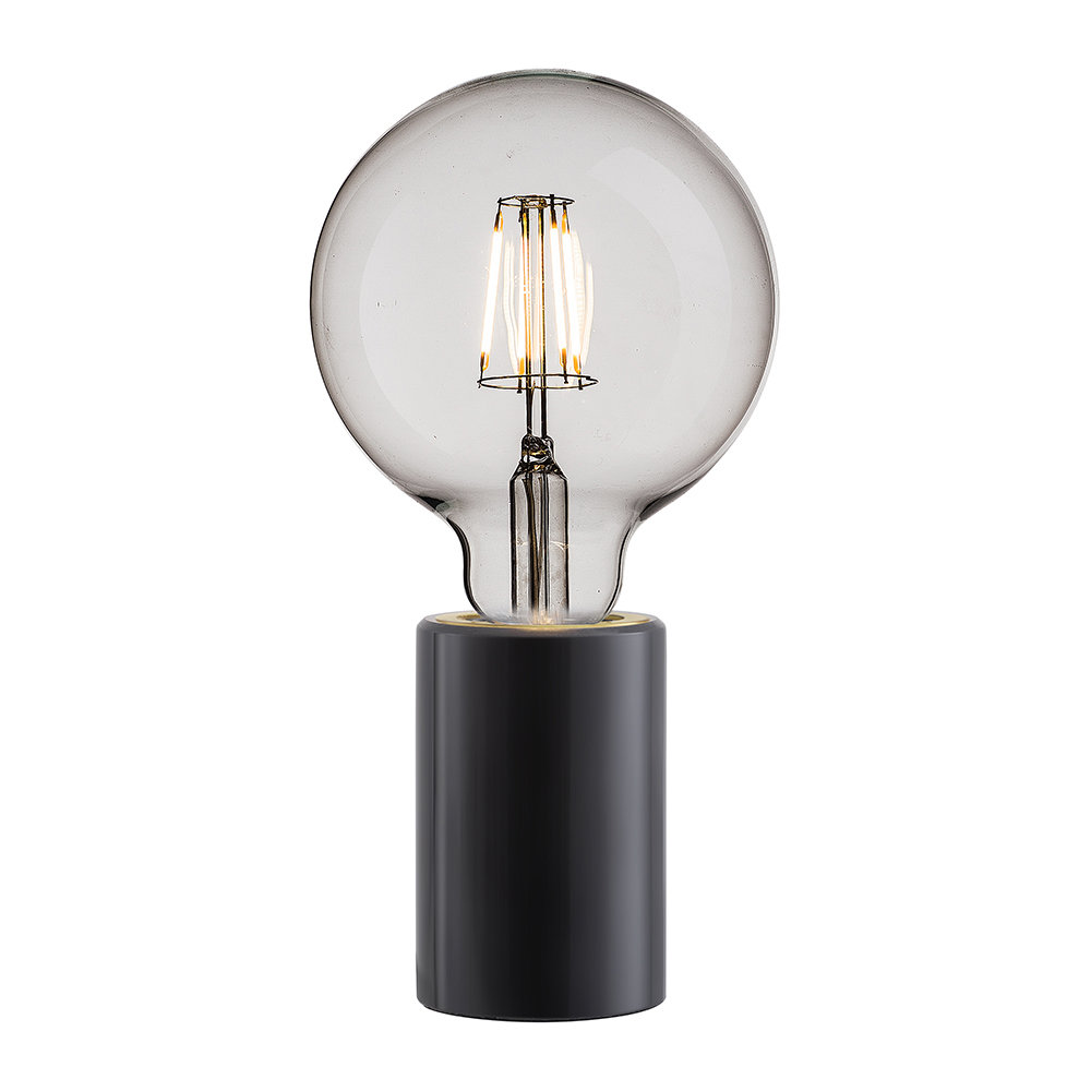 small black table lamp
