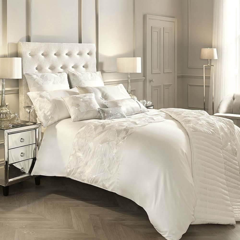 Kylie Minogue at Home - Adele Duvet Cover - Oyster - Double