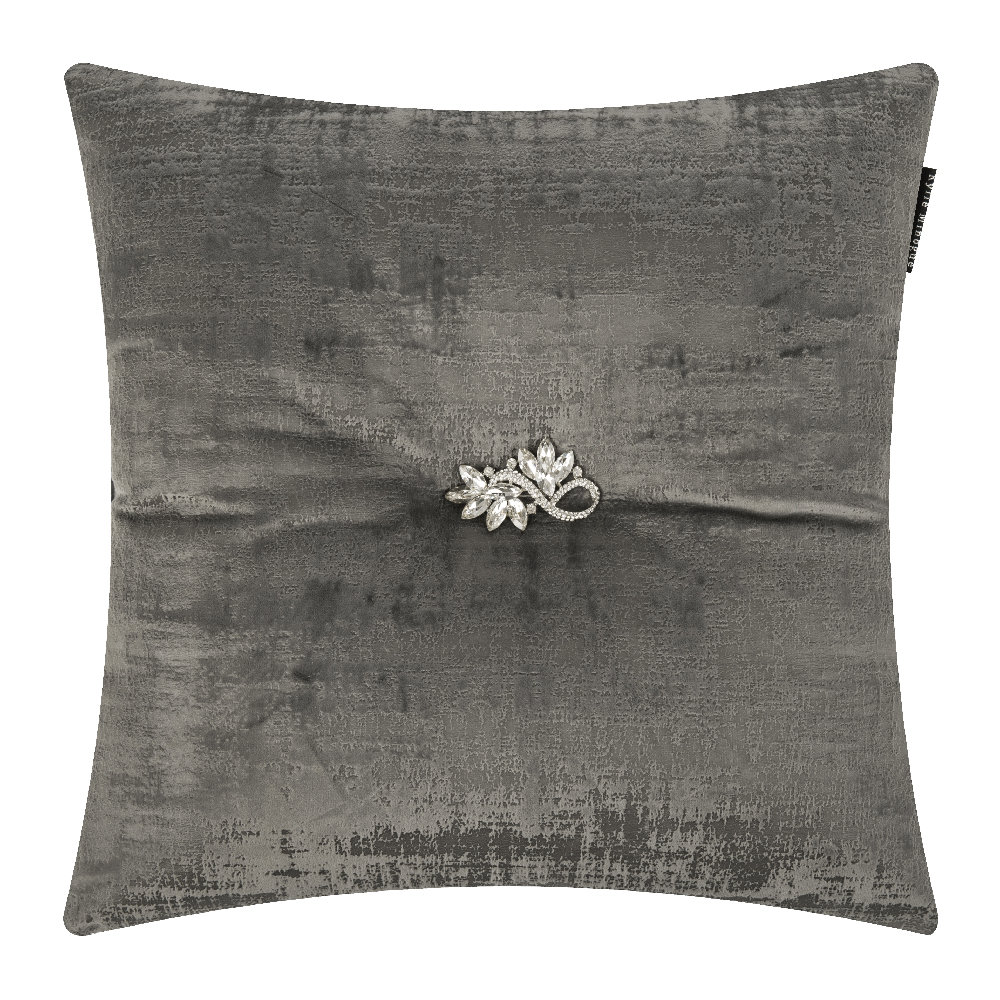 Kylie Minogue at Home  Saturn Bed Pillow  Gray  40x40cm