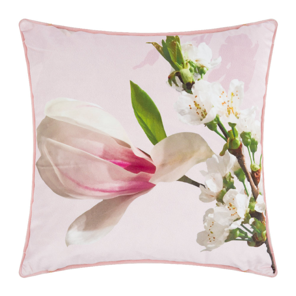 Ted Baker  Harmony Bed Pillow  Pink  45x45cm