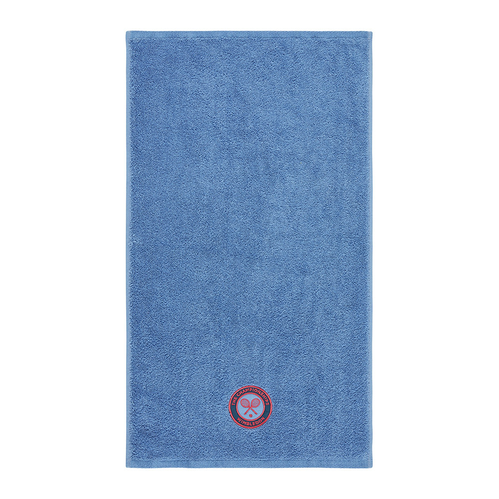 The Championships Wimbledon - Embroidered Guest Towel 2018 - Cornflower