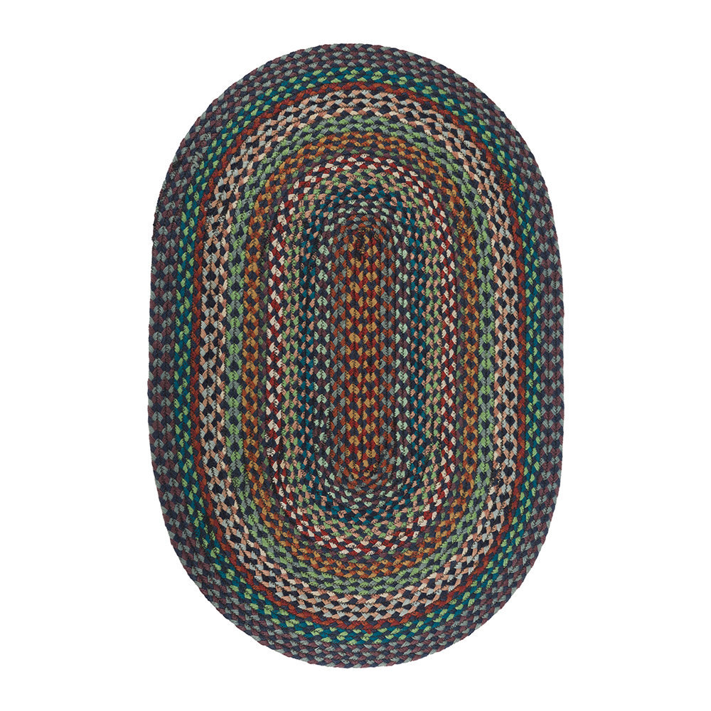 acheter the braided rug company tapis ovale 61 91cm. Black Bedroom Furniture Sets. Home Design Ideas