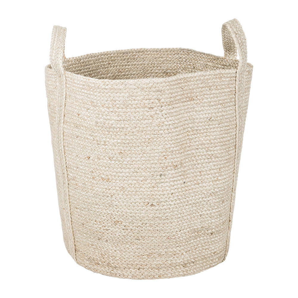 The Braided Rug Company - Large Slouchy Basket - Natural