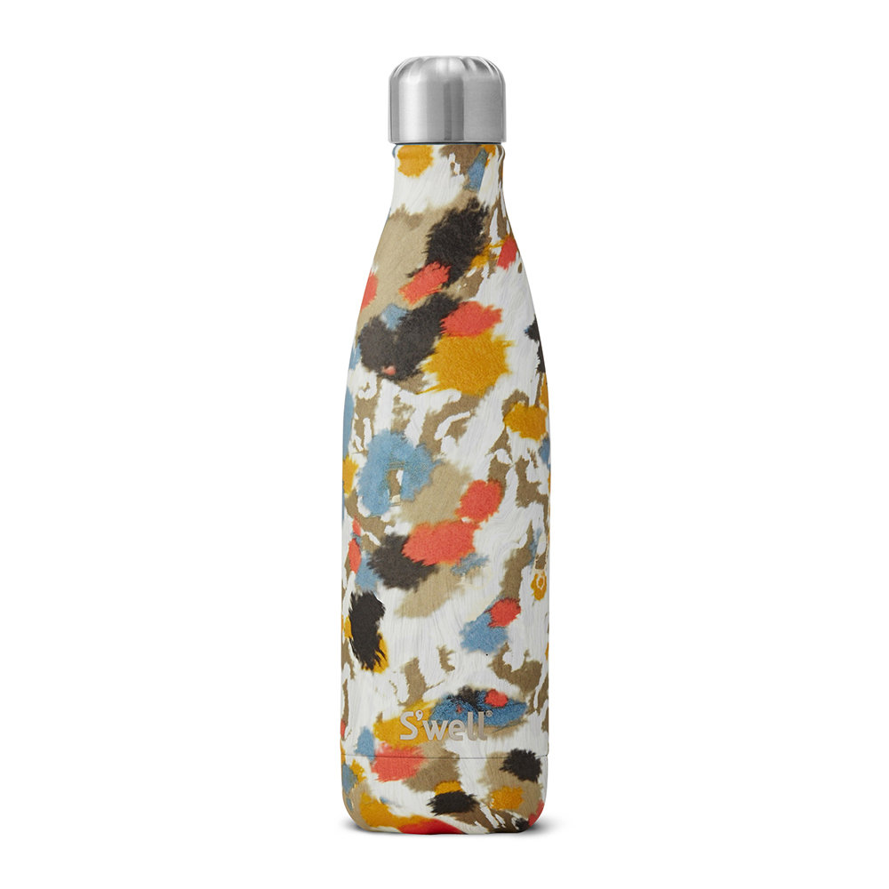 S'well - The Exotics Bottle - Ivory Cheetah - 0.5L