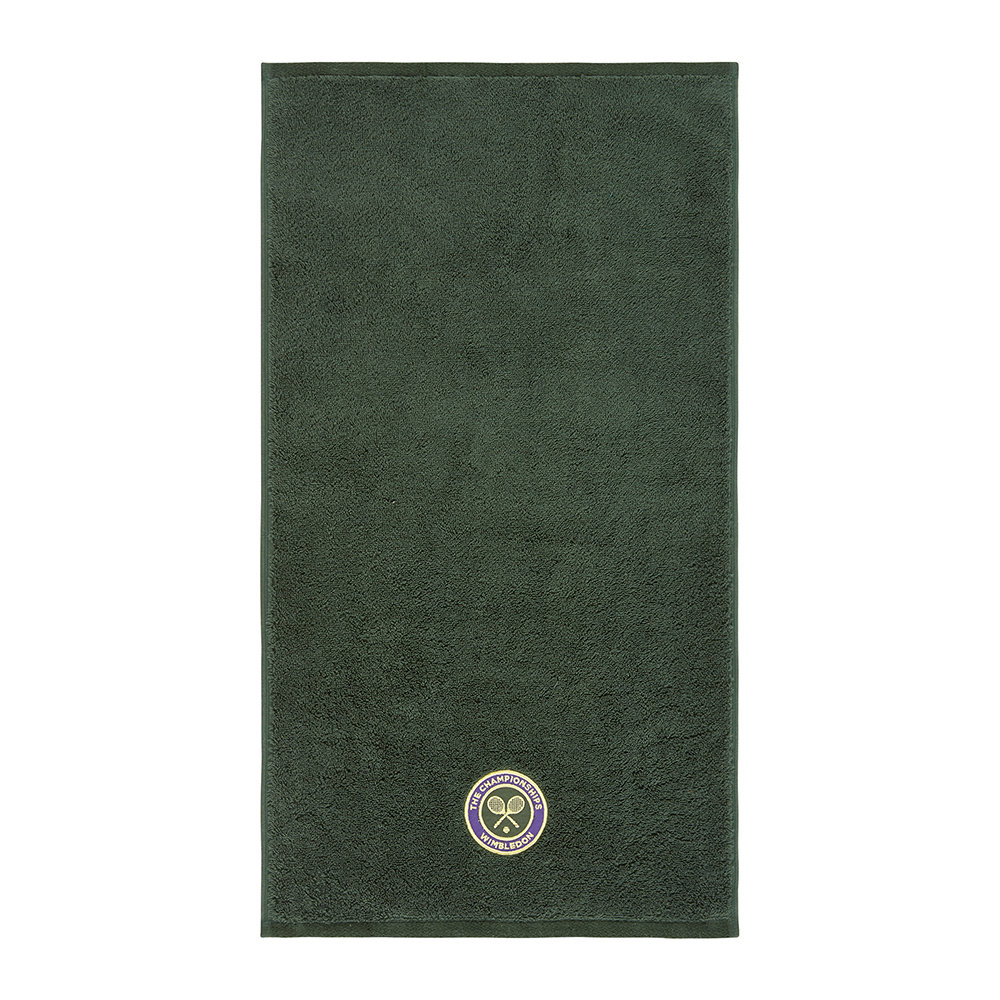 The Championships Wimbledon - Embroidered Guest Towel 2018 - Green
