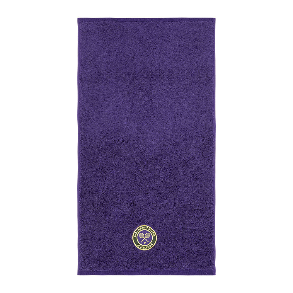 The Championships Wimbledon - Embroidered Guest Towel 2018 - Purple