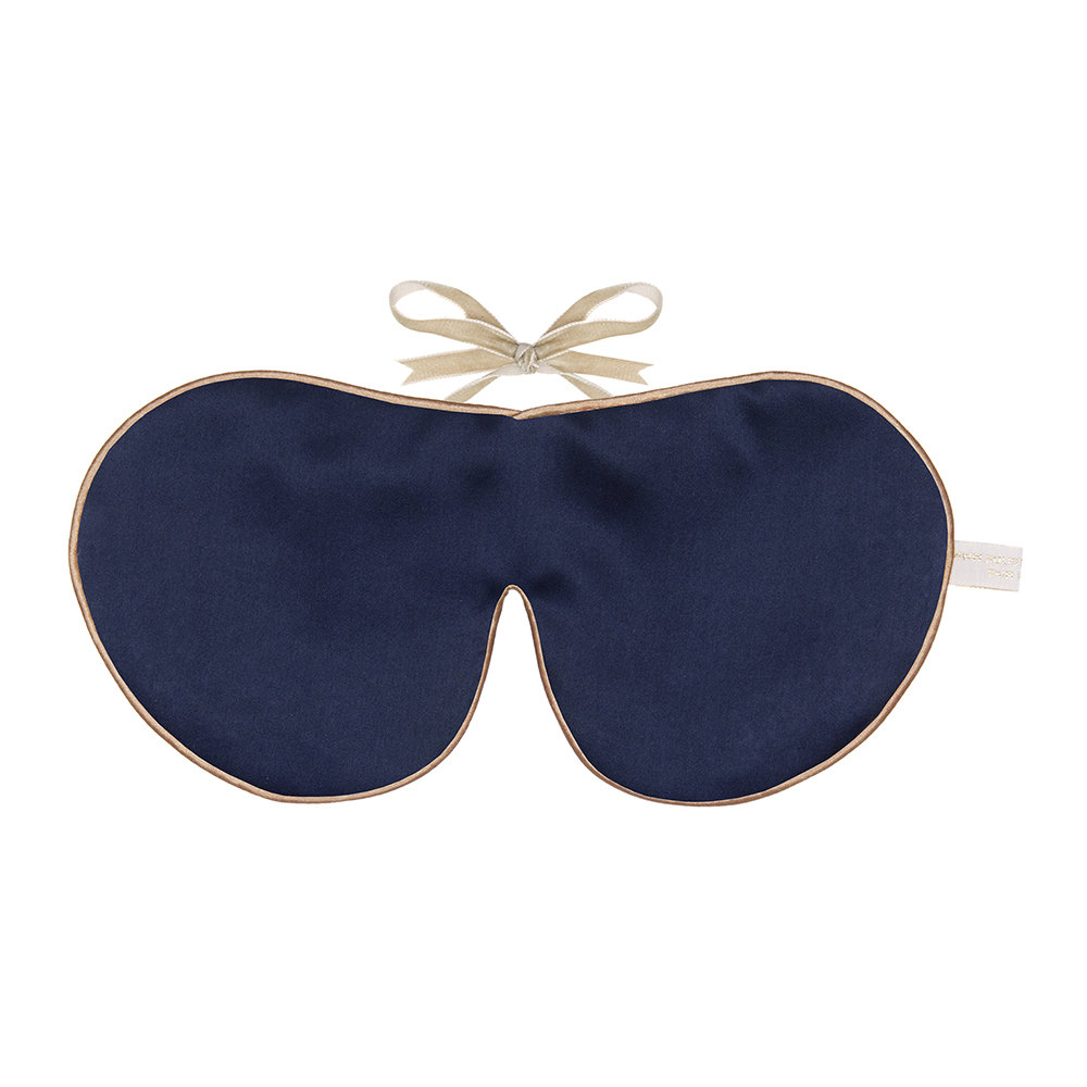 Holistic Silk - Anti Ageing Eye Mask - Navy