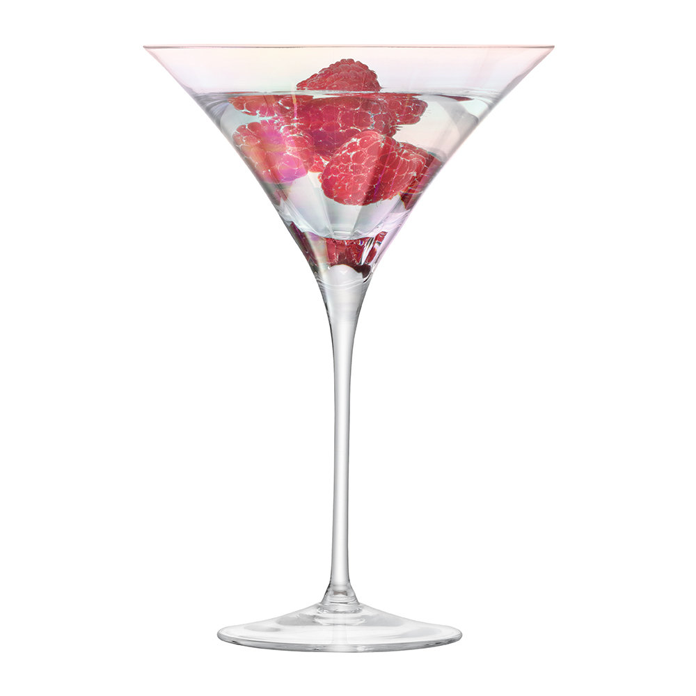 LSA International - Pearl Blown Cocktail Glass - Set of 2