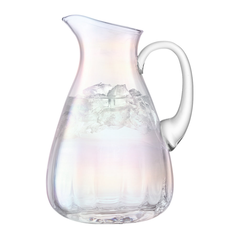LSA International - Pearl Blown Glass Pitcher - 2.2L