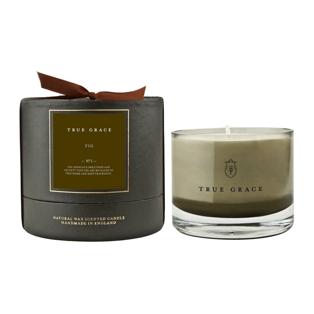 True Grace - Manor Candle - 225g - Fig