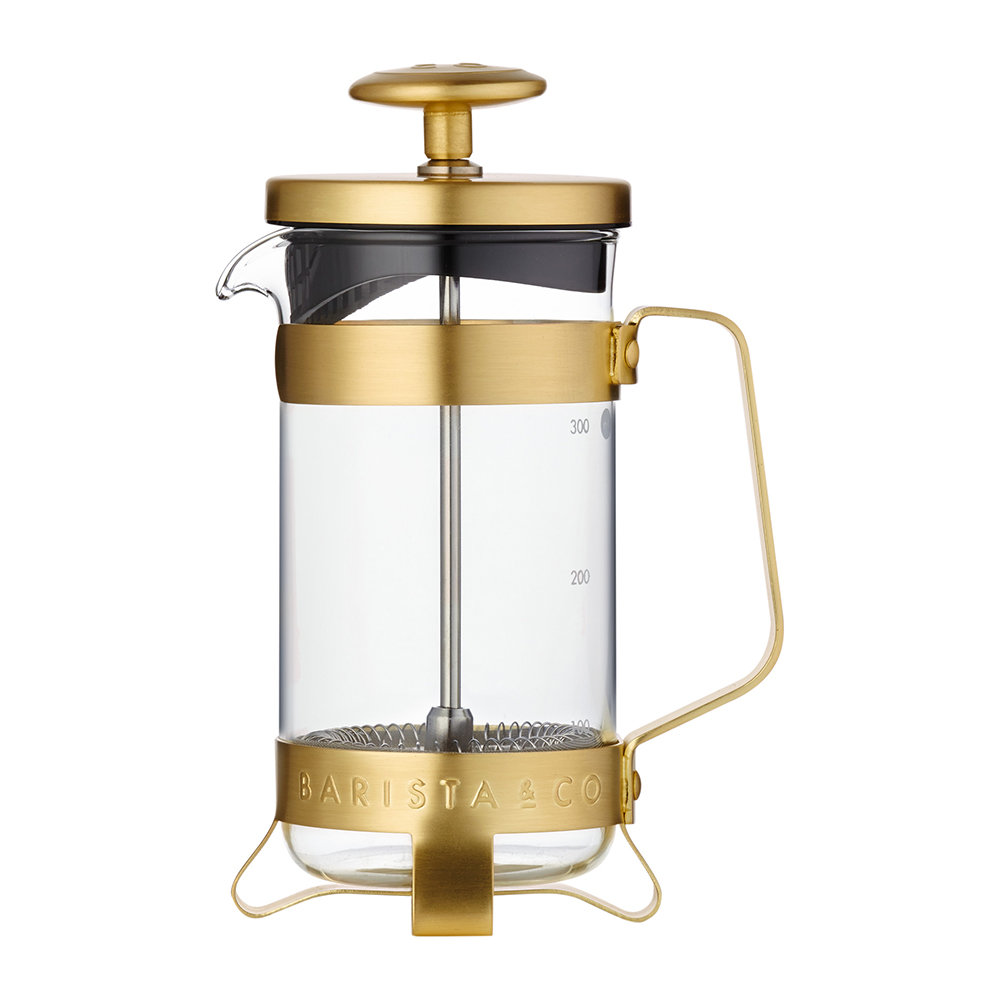 Barista  Co - Midnight Gold Cafetiere - 3 Cup