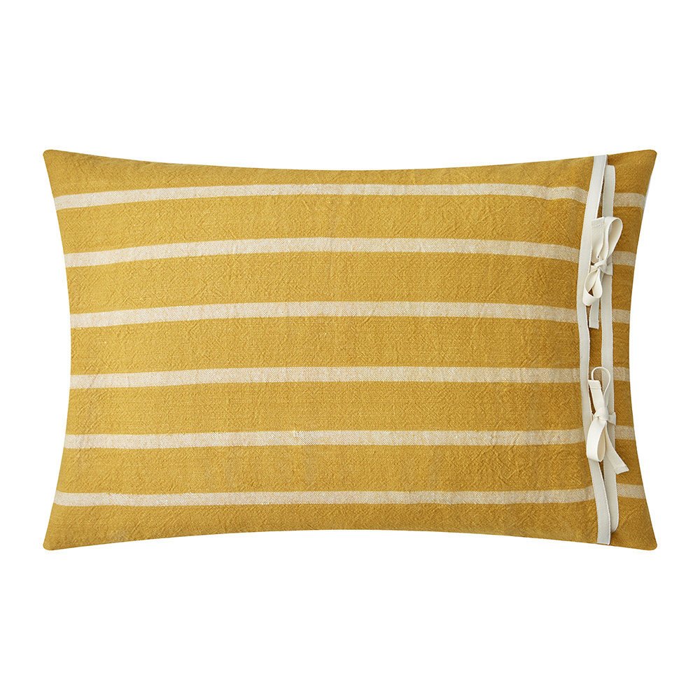Ralph Lauren Home  Rue Vaneau Morrene Cushion Cover  Yellow  38x50cm