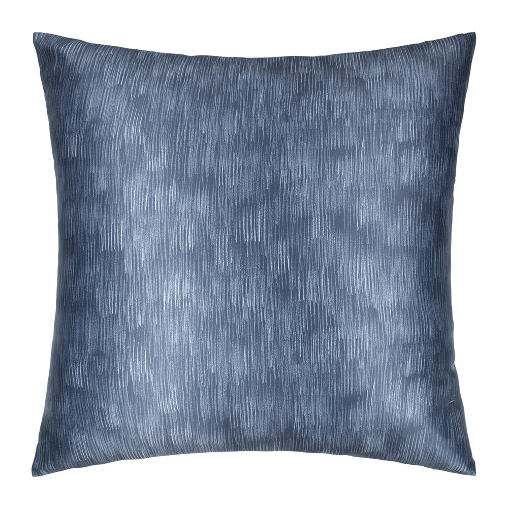 DKNY - Camo Floral Bed Cushion - Indigo - 65x65cm