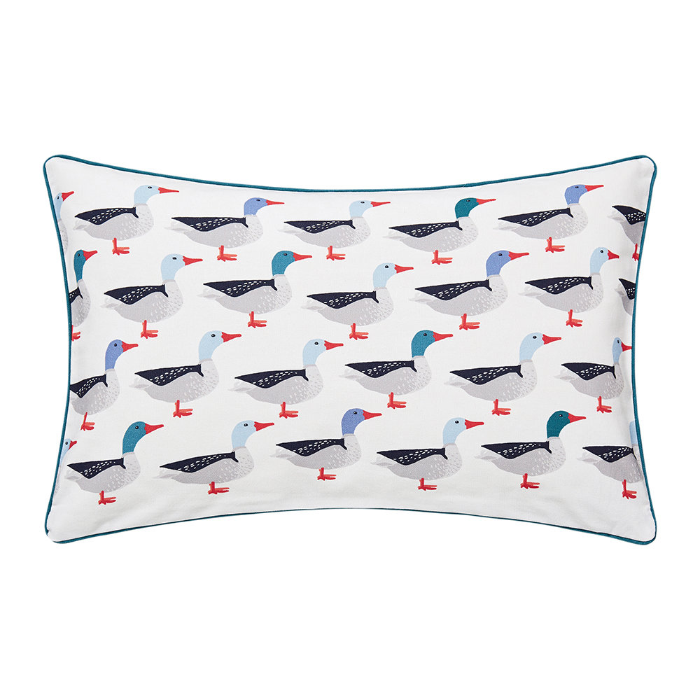 Joules - Galley Grade Cushion - Navy - 30x50cm
