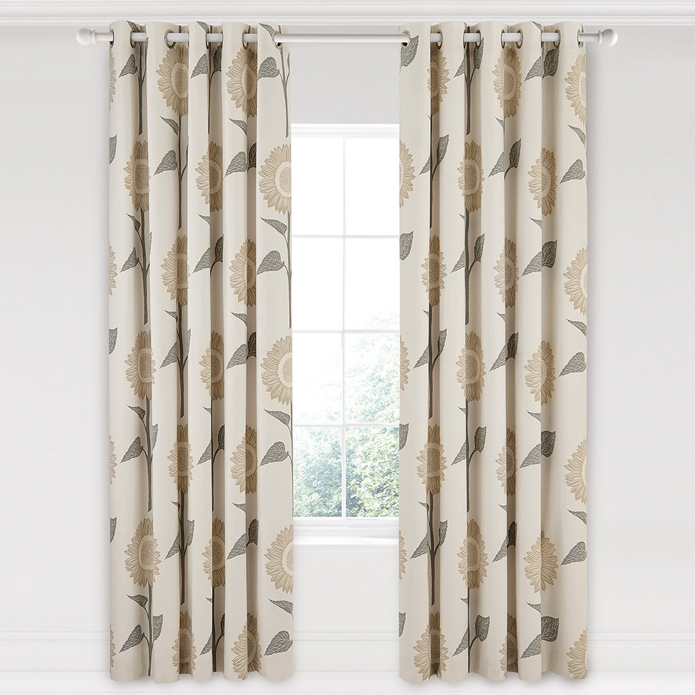 Lined Linen Drapes: Buy Sanderson Sundial Lined Curtains