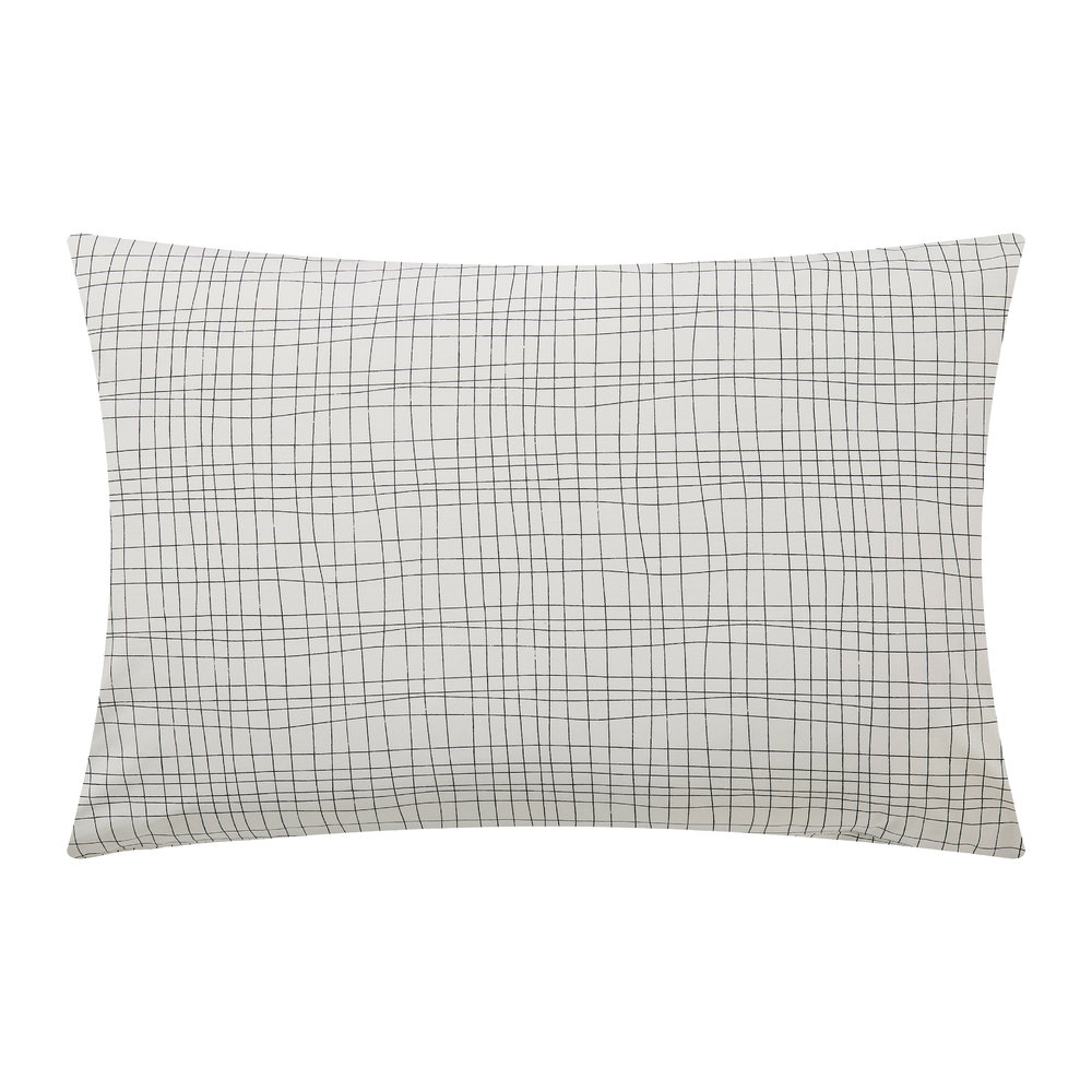 Scion  Lintu Pillowcase Pair  Dandelion  Pebble