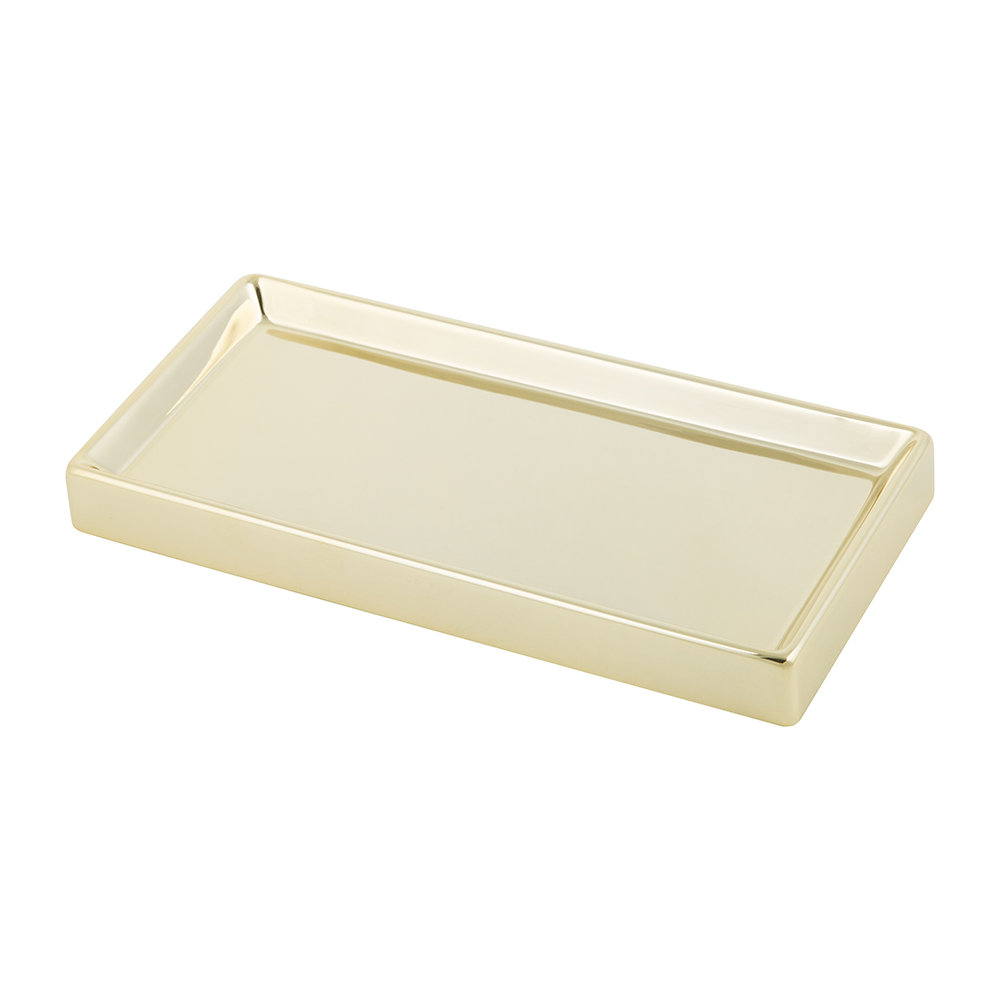 Photo of Decor Walther - DW 345 Tray - Gold - shop Decor Walther Bathroom Accessories online