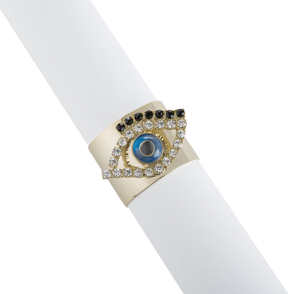 Joanna Buchanan - Evil Eye Napkin Ring - Set of 2