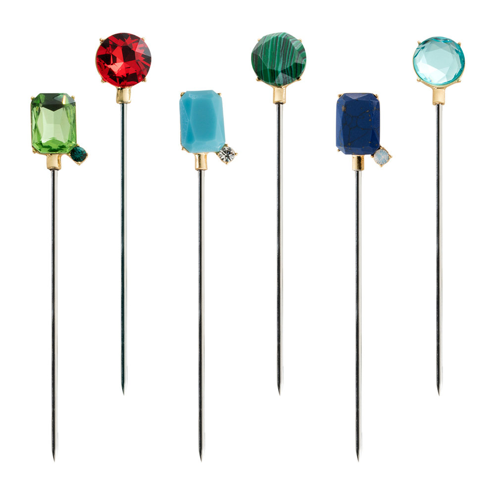 Joanna Buchanan - Bright Gem Cocktail Picks - Set of 6