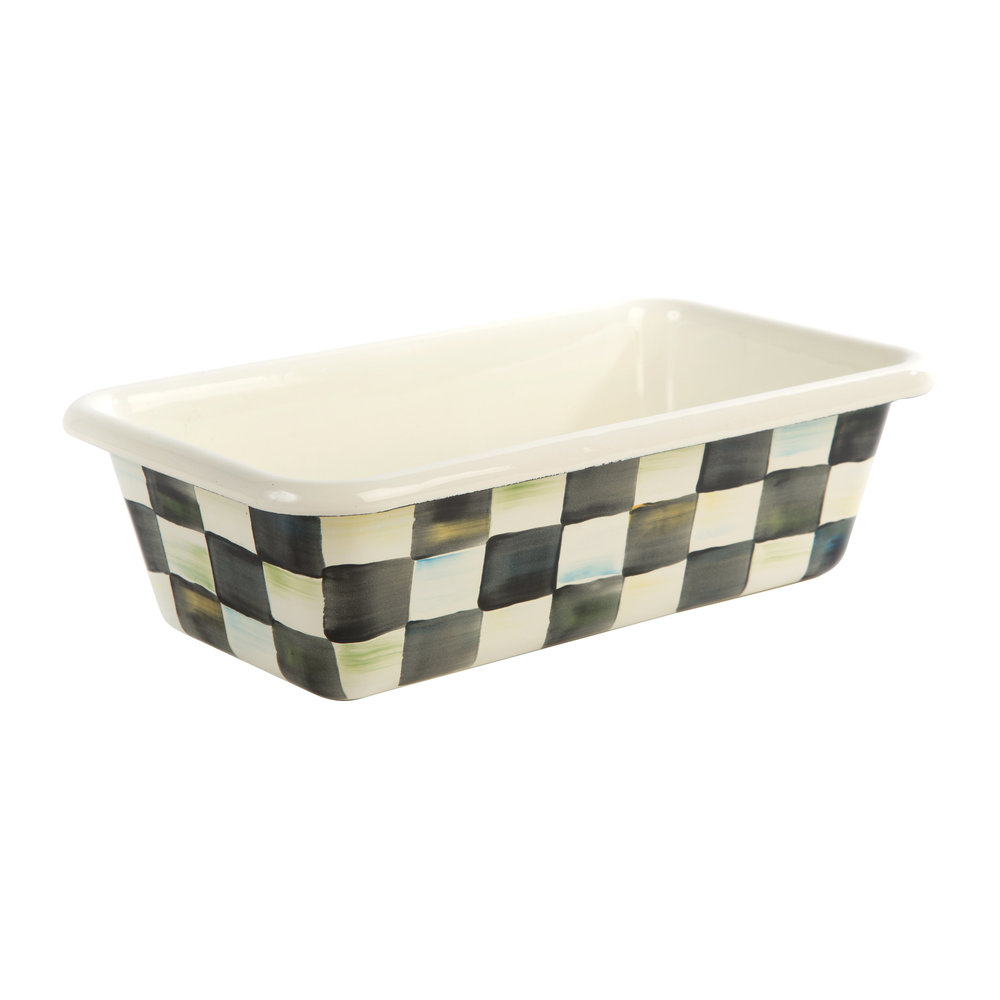 MacKenzie-Childs - Courtly Check Enamel Loaf Pan