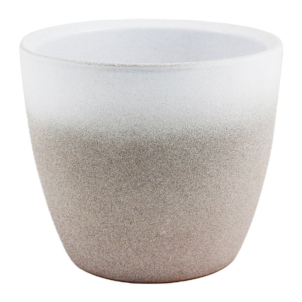 Iron  Clay - Turno Plant Pot - Stone
