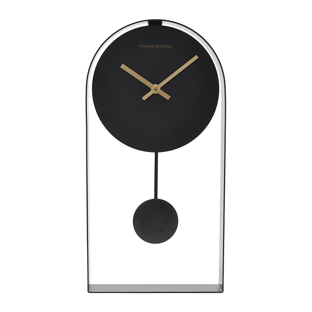 House Doctor - Black Art Clock