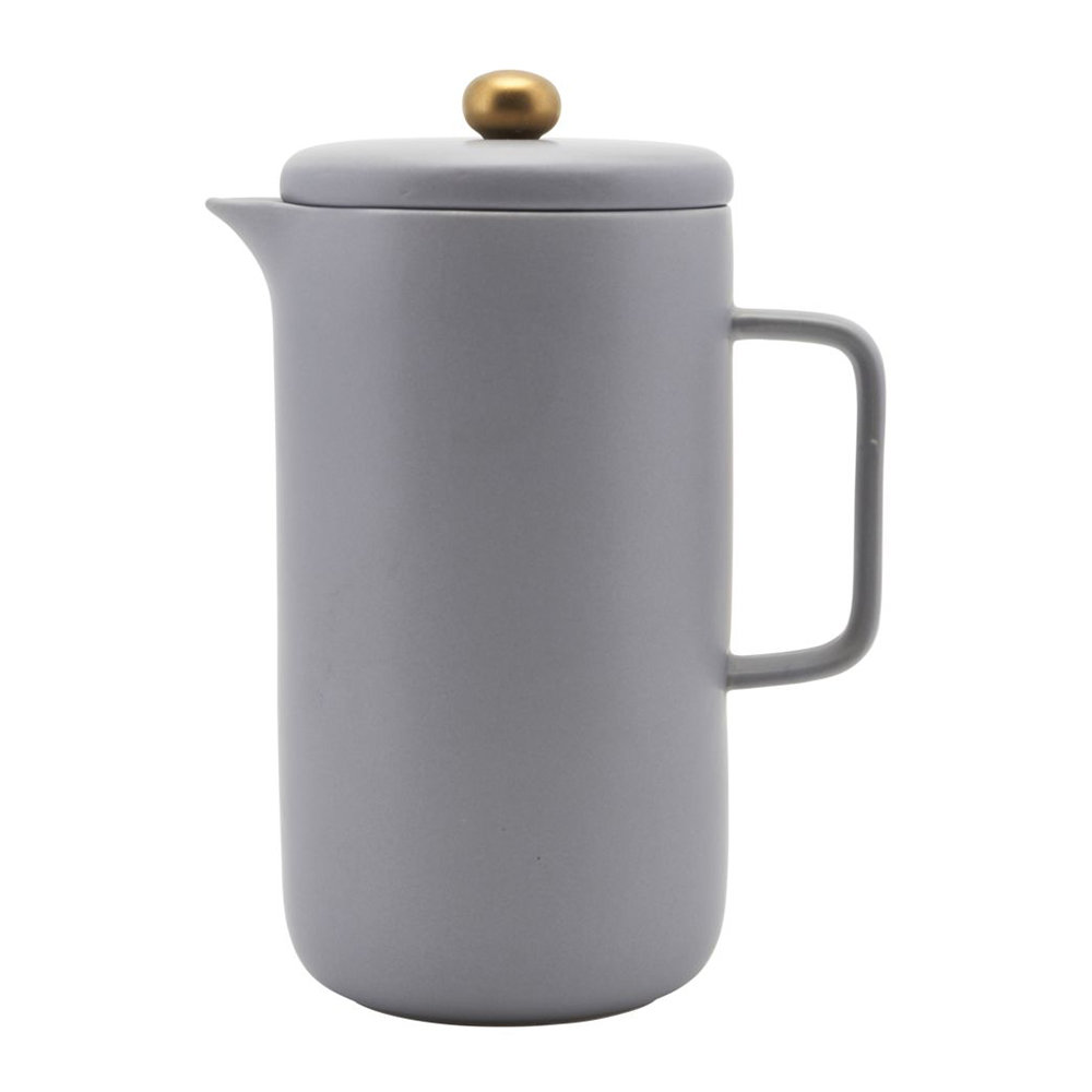 Photo of House Doctor - Coffee Pot - 20cm - Grey - shop House Doctor Kitchen & Dining, Kitchen Appliances, Coffee Makers & Espresso Machines, French Presses online
