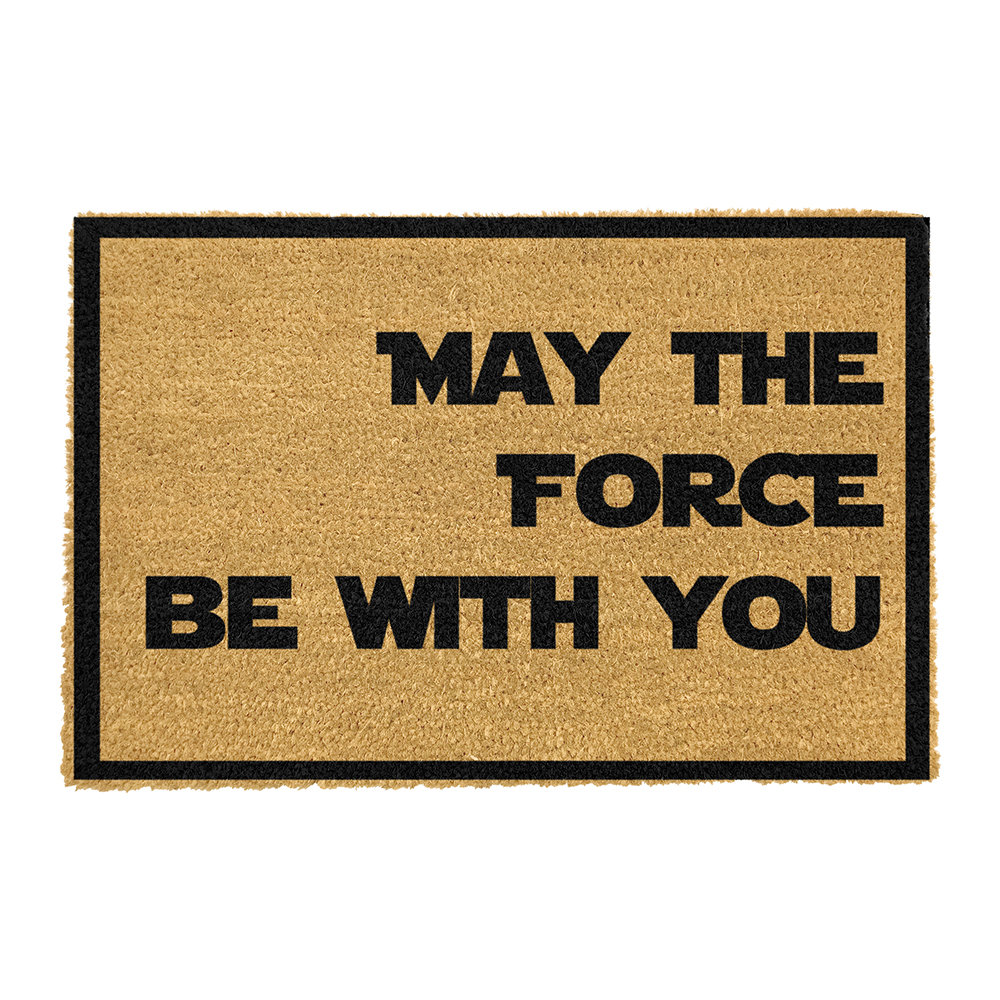 Artsy Doormats - May The Force Be With You Door Mat