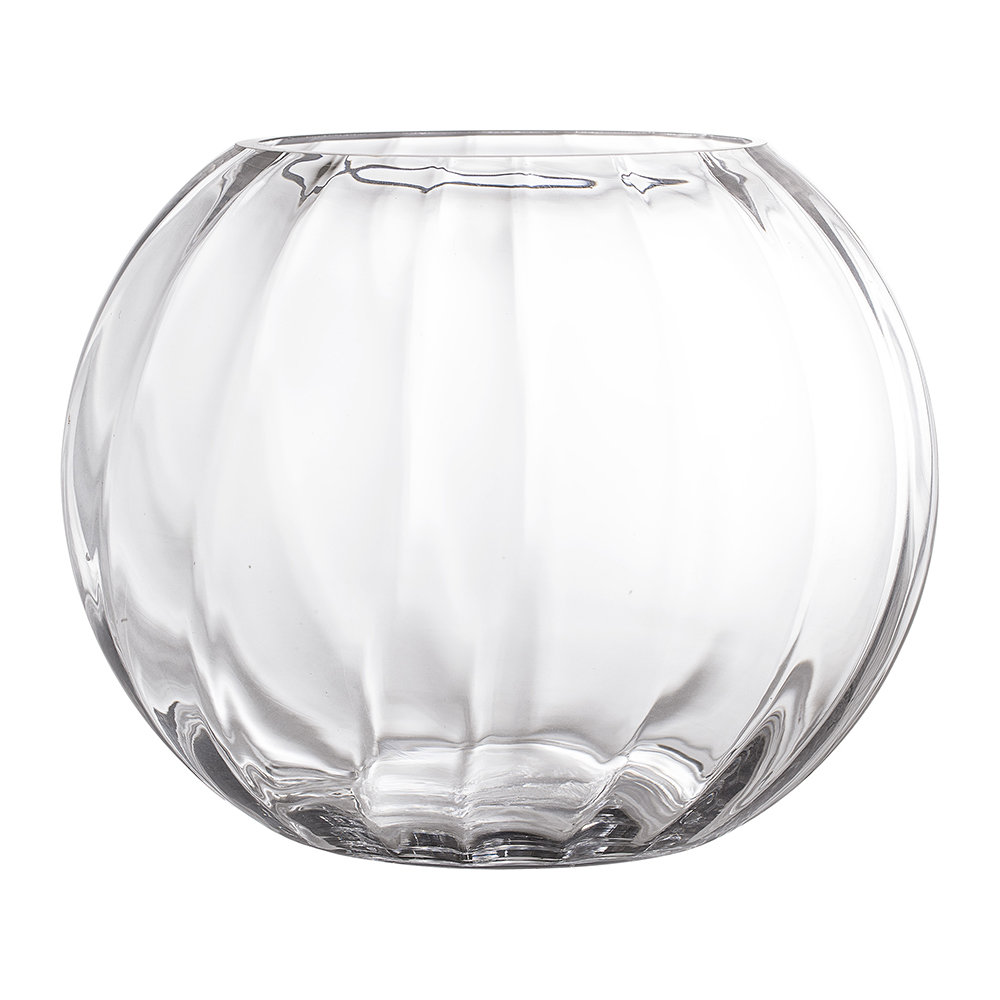 Clear glass vases are apparently visible in nature They are excellent pieces of decorative items of a household A classy effect is portrayed by the display of this