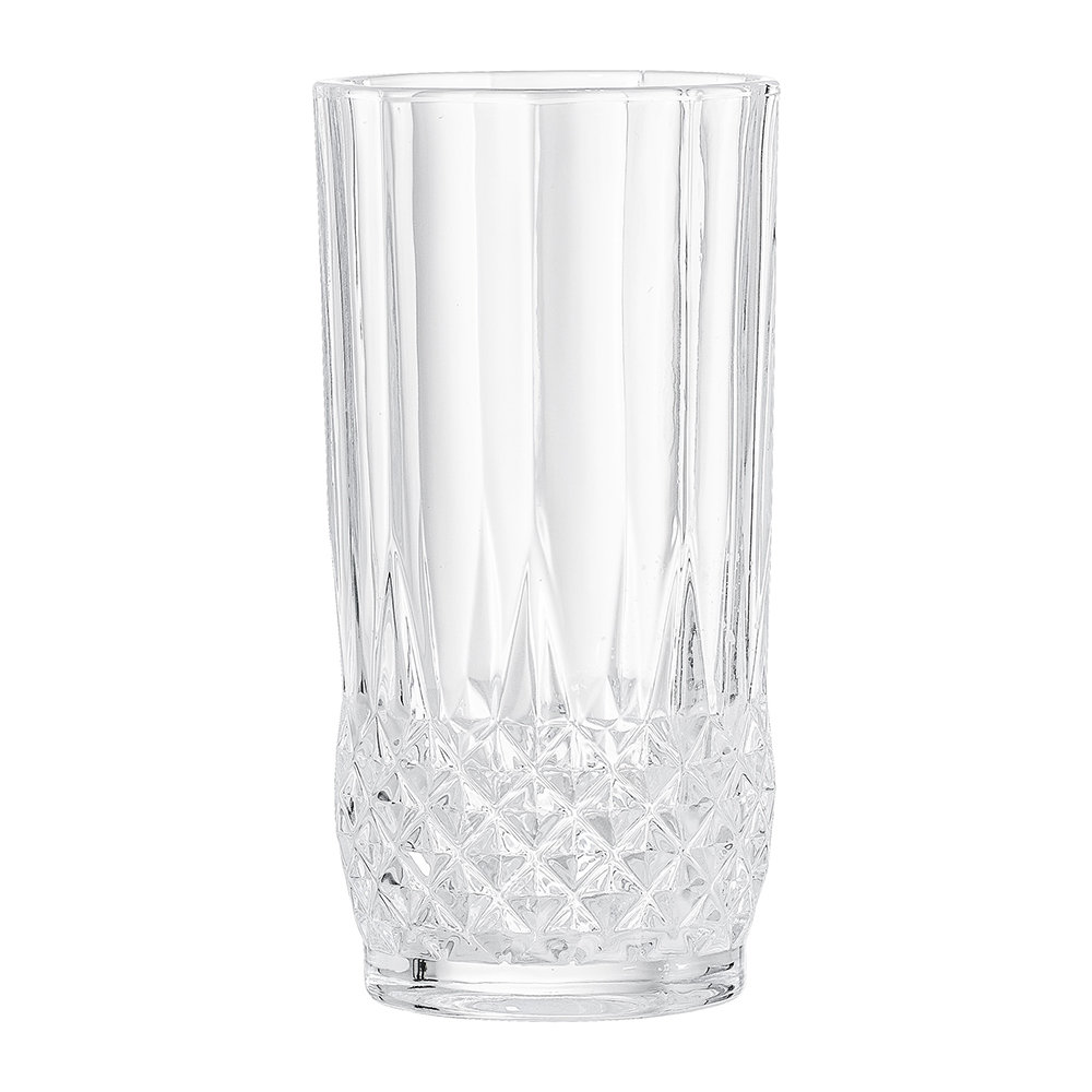 Bloomingville - Art Deco Textured Glass Tumbler