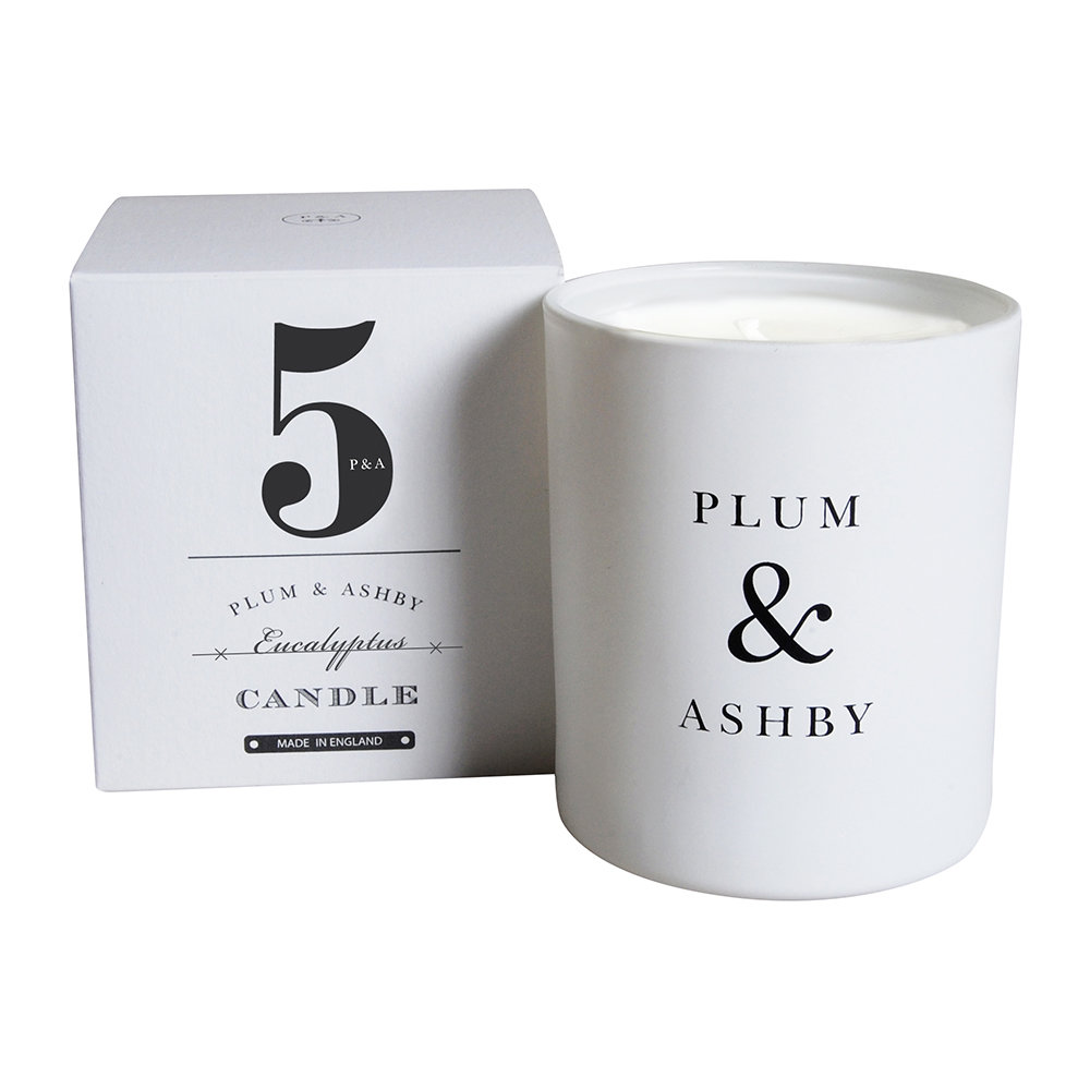 Plum  Ashby - Numbered Collection Scented Candle - Eucalyptus