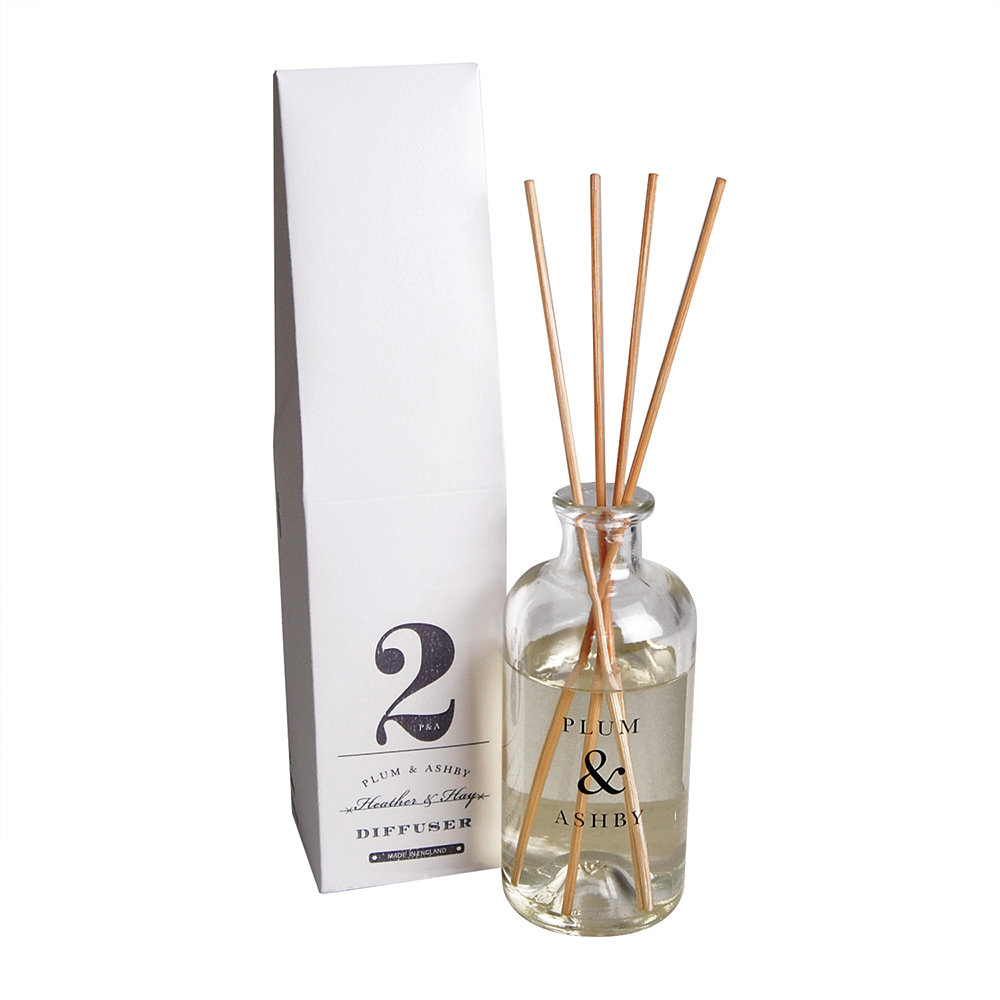 Plum  Ashby - Reed Diffuser - Heather  Hay