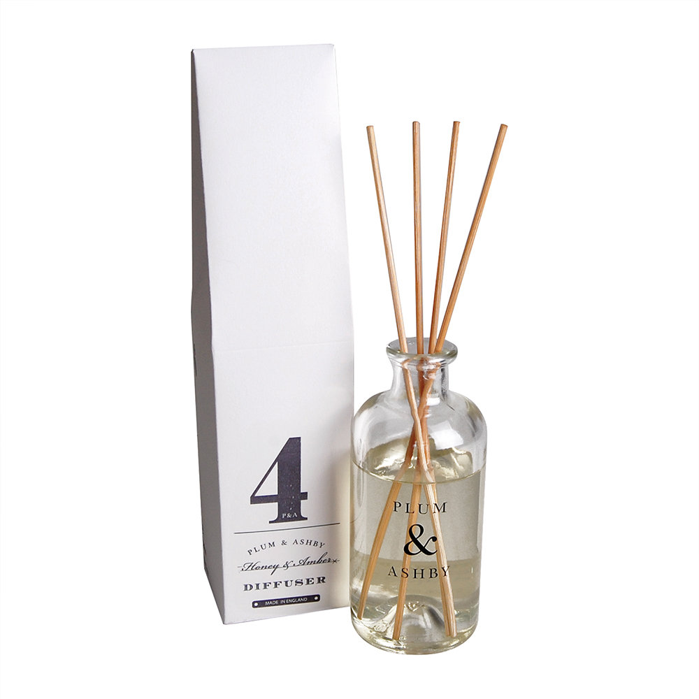 Plum  Ashby - Reed Diffuser - Honey  Amber