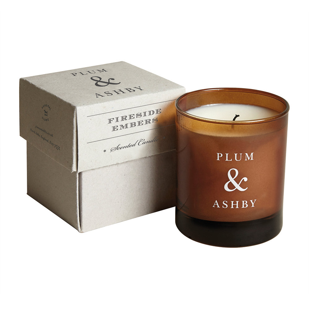 Plum  Ashby - Scented Candle - Fireside Embers