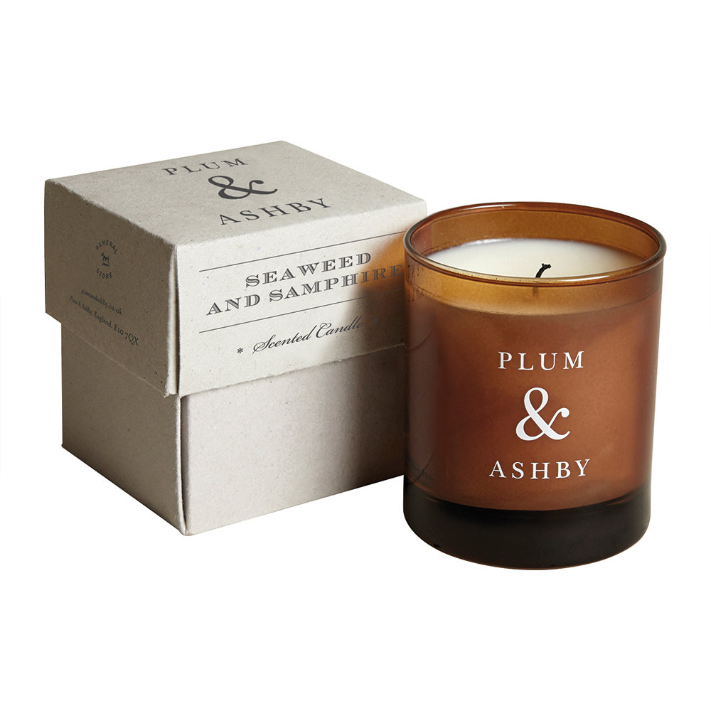 Plum  Ashby - Scented Candle - Seaweed  Samphire