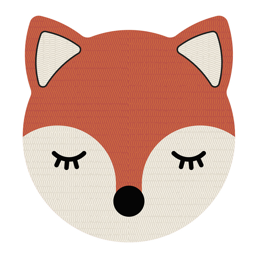 PODEVACHE - Fox Face Vinyl Placemat
