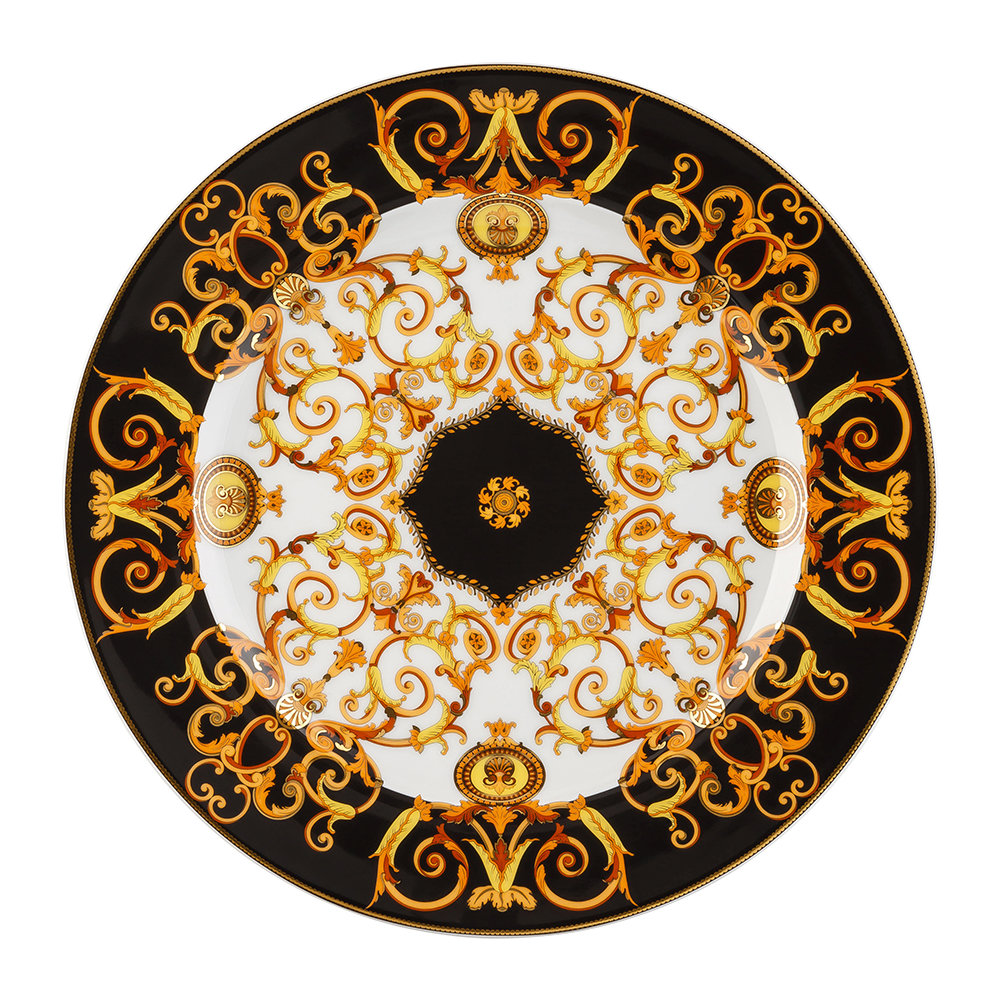 Versace Home - 25th Anniversary Barocco Plate - Limited Edition
