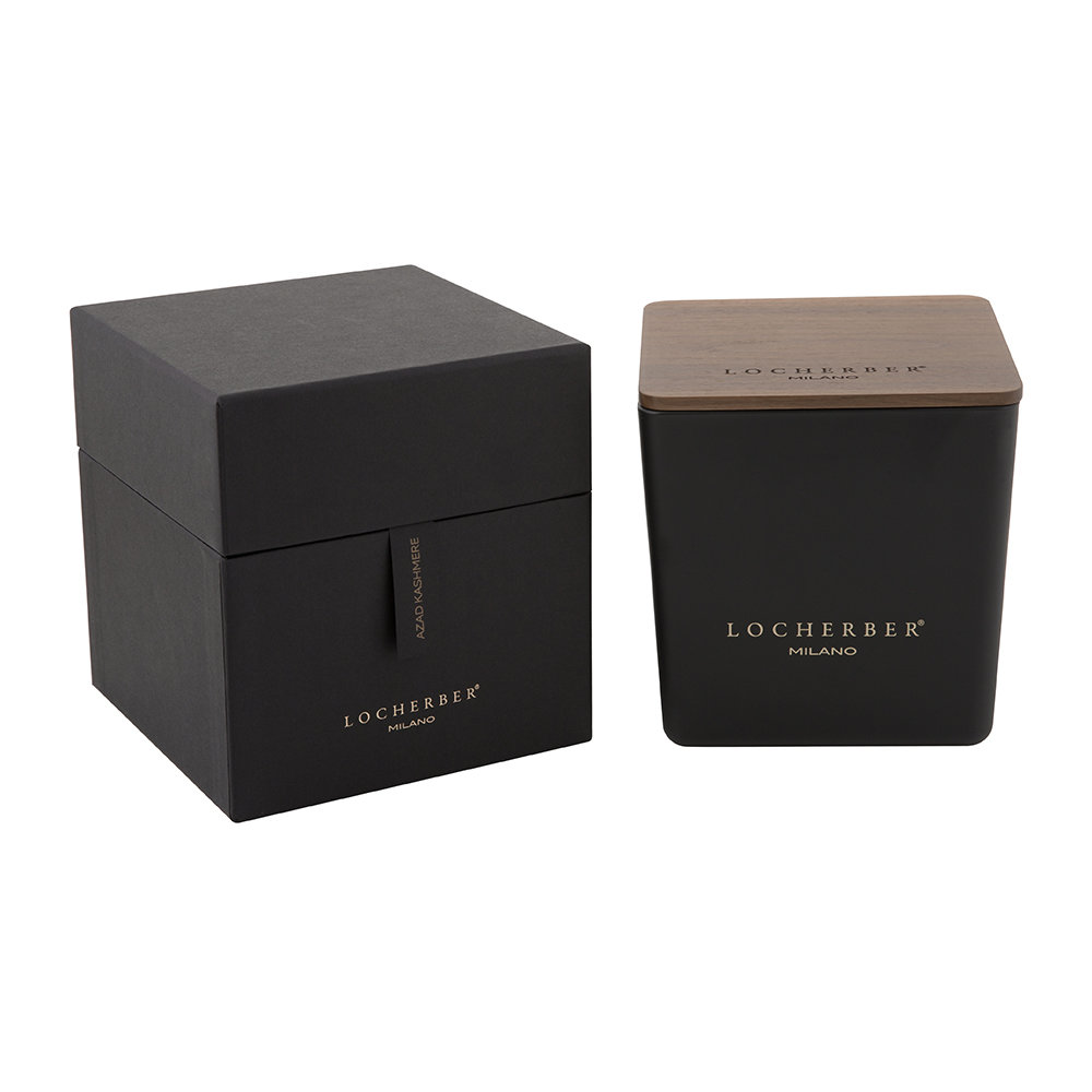 Locherber - Azad Kashmere Scented Candle & Canaletto Walnut Lid - 1.6kg