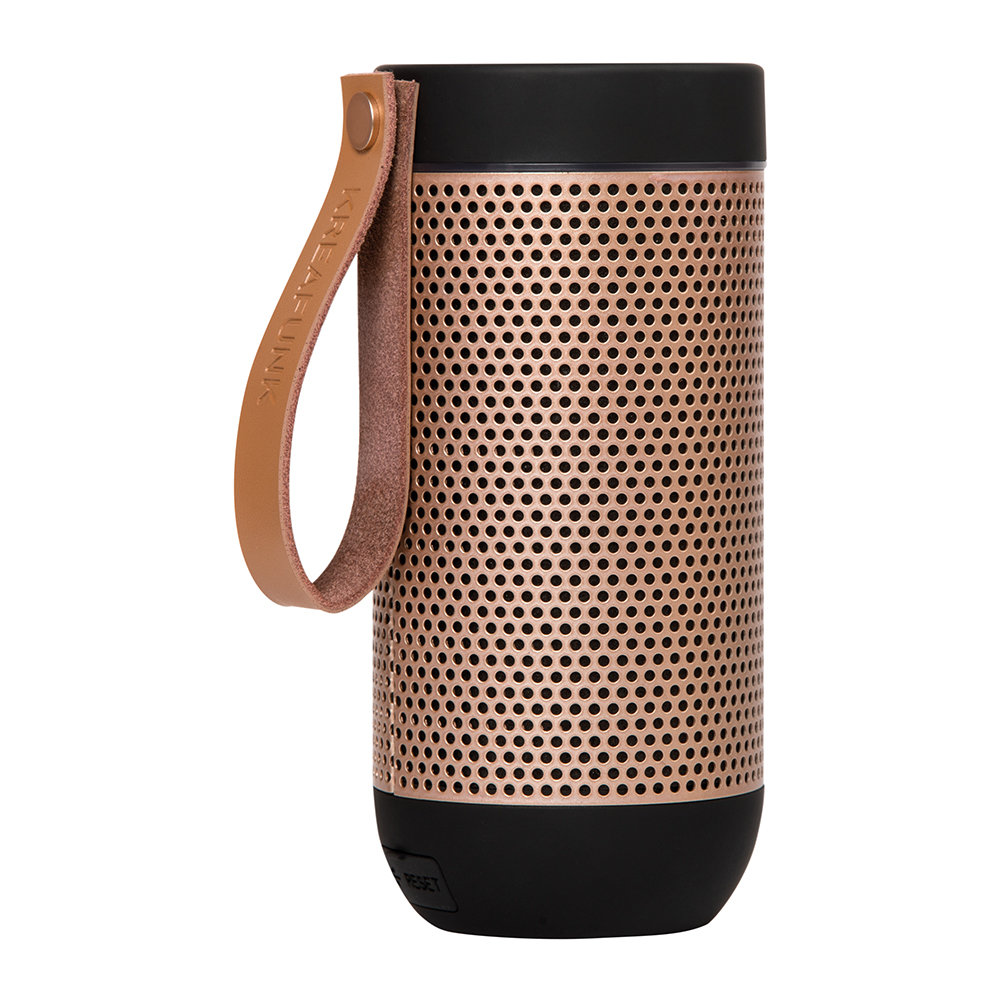 KREAFUNK - aFunk 360 Degrees Bluetooth Speaker - Black/Rose Gold