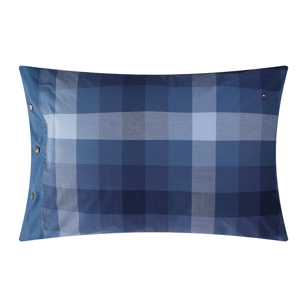 Tommy Hilfiger - Check Denim Spirit Pillowcase
