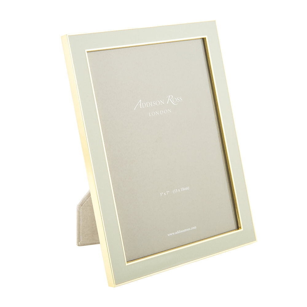 Buy Addison Ross Chiffon Enamel & Gold Photo Frame | Amara