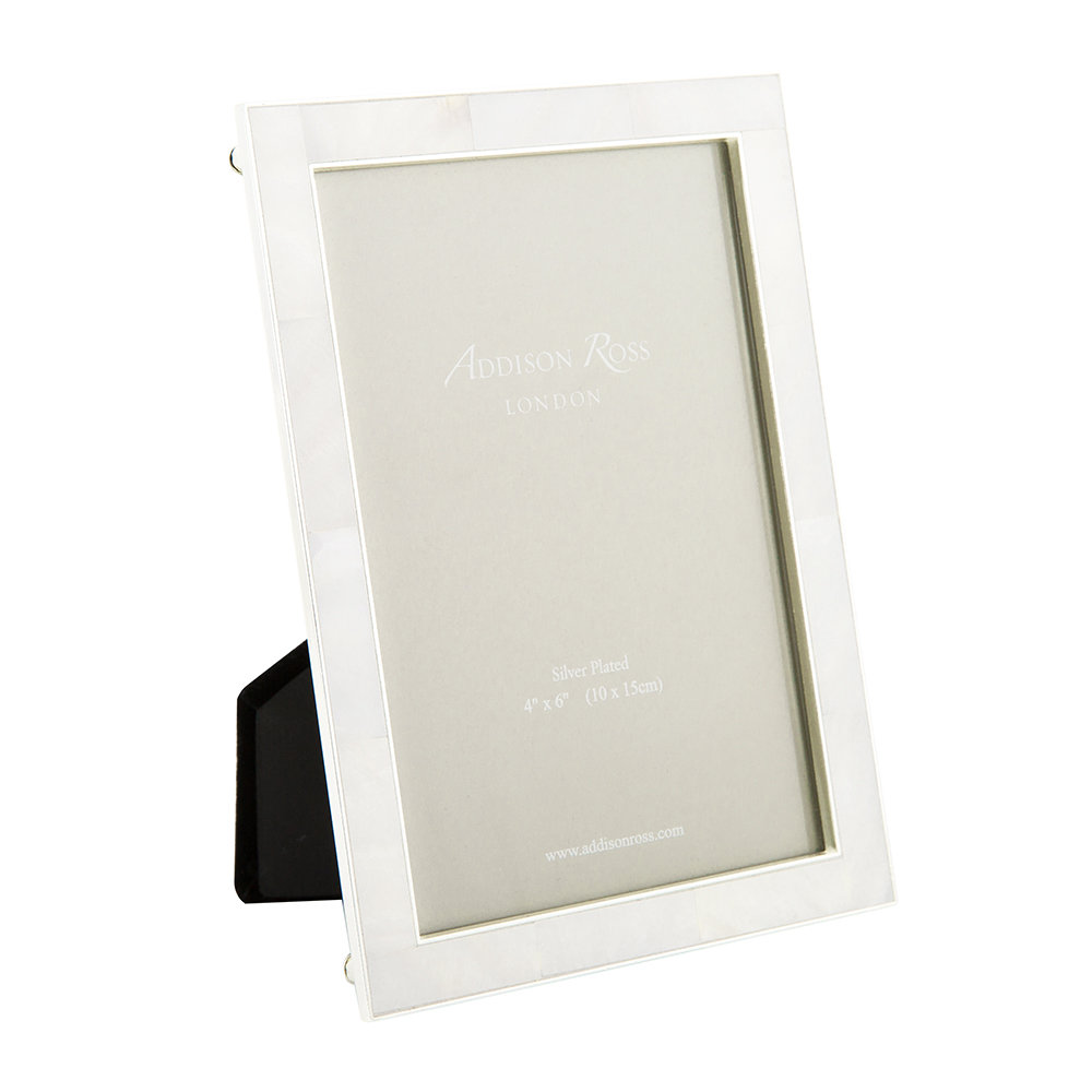 Buy Addison Ross Cream Mother Of Pearl Silver Photo Frame Amara