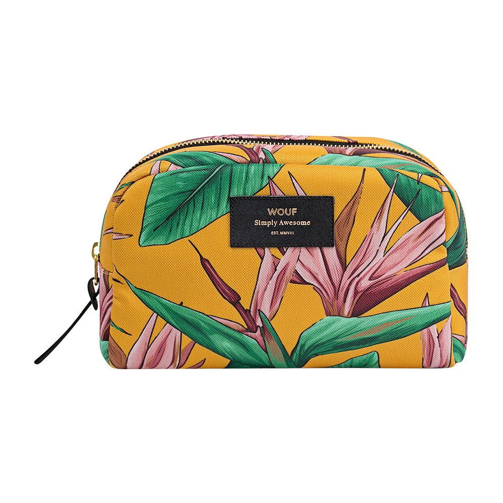 Wouf - Bird of Paradise Cosmetic Bag - Large