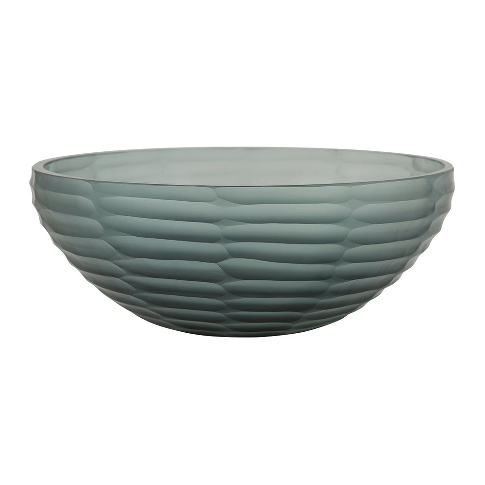 A by AMARA - Dash Glass Bowl - Indigo Blue