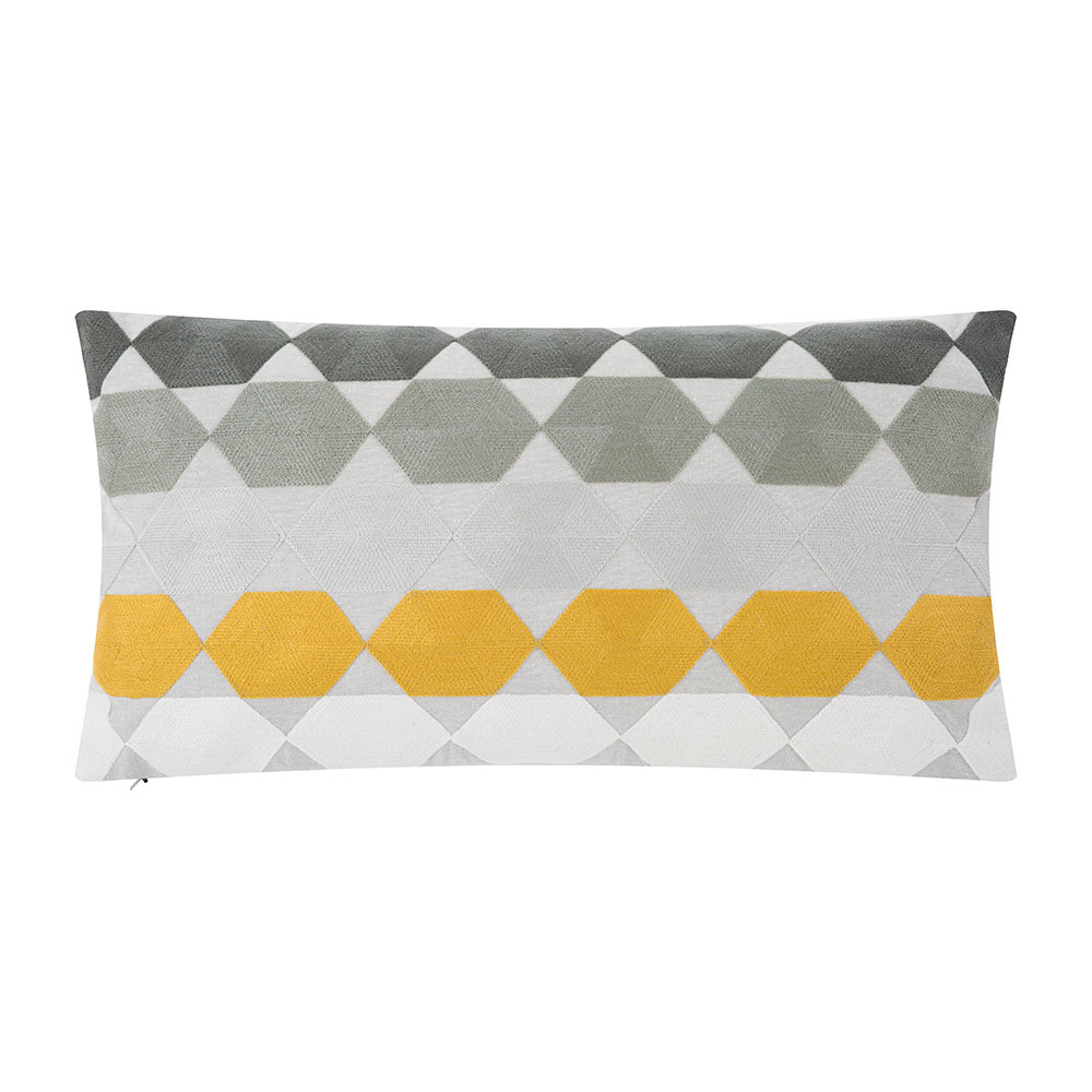 Niki Jones  Hex Pillow  Multi  30x50cm
